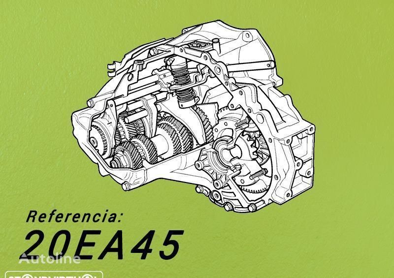 gearbox for CITROEN C4 Picasso III 1.6i  automobile