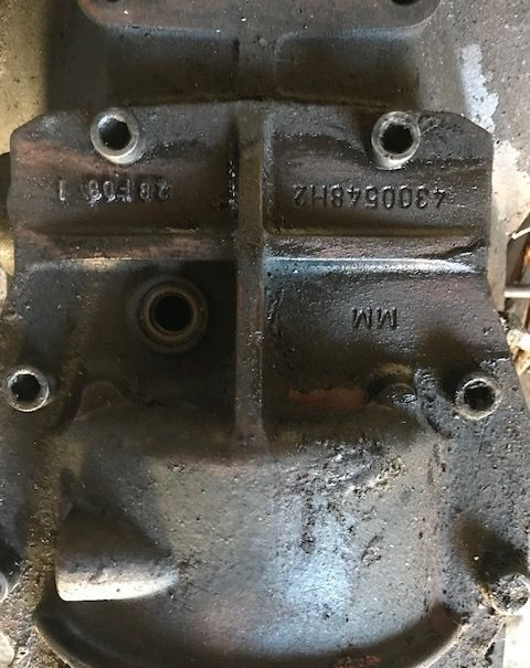 gearbox for MASSEY FERGUSON Dyna 6  tractor