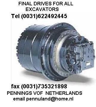 gearbox for excavator