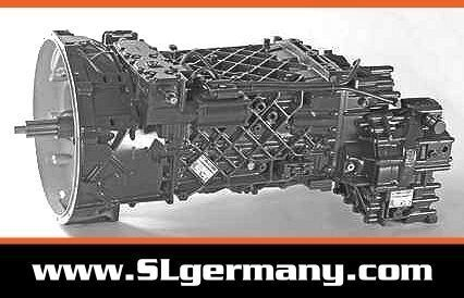 ZF 6 WG 201, 6 WG 260, 6 WG 210, 16 AS 2601 gearbox for mobile crane