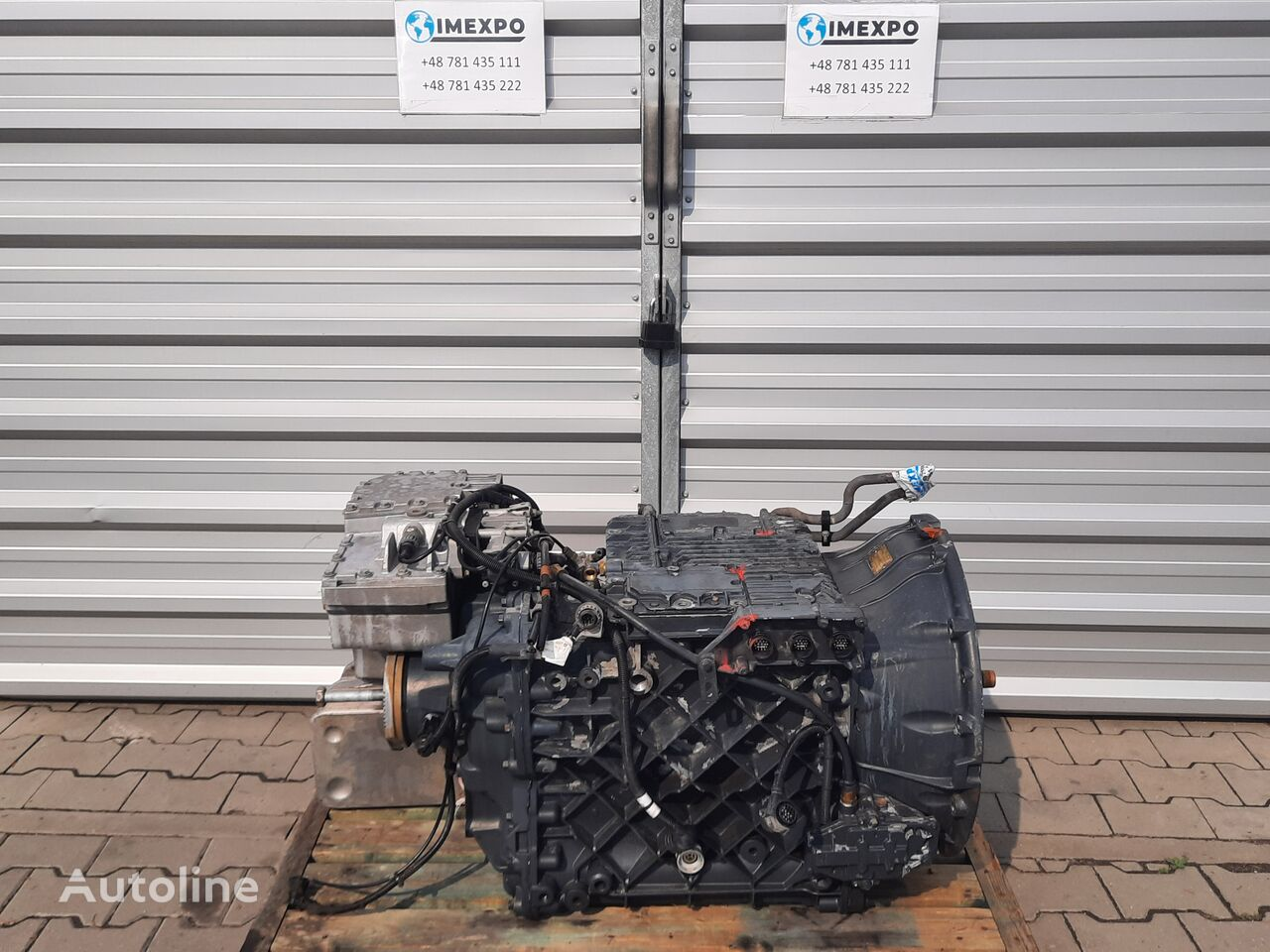 RENAULT ATO 2512C AF242741 gearbox for truck