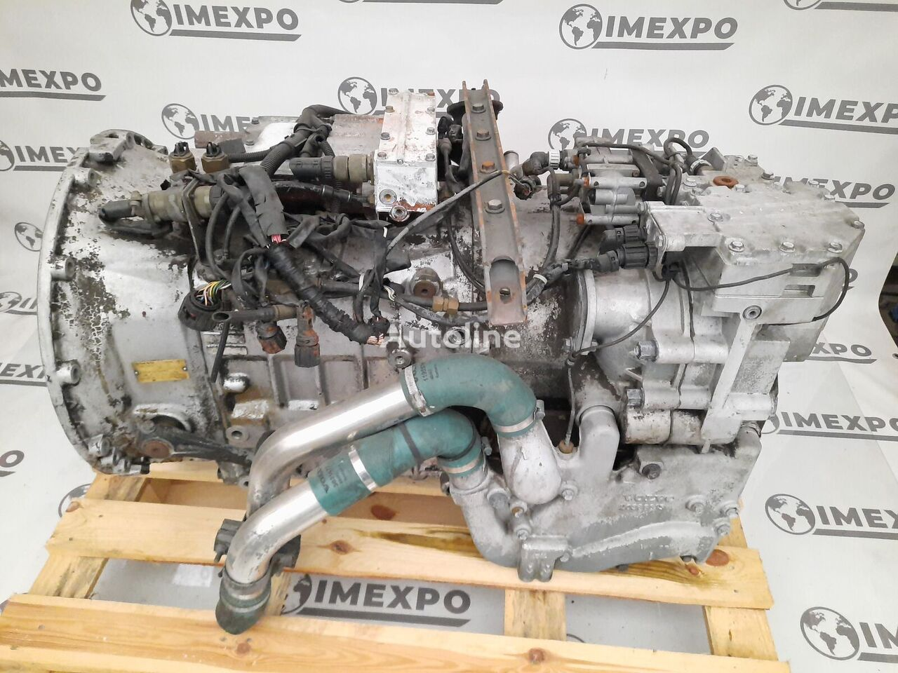 Voith EGS-VR RETARDER / COMPLETE gearbox for VOLVO bus