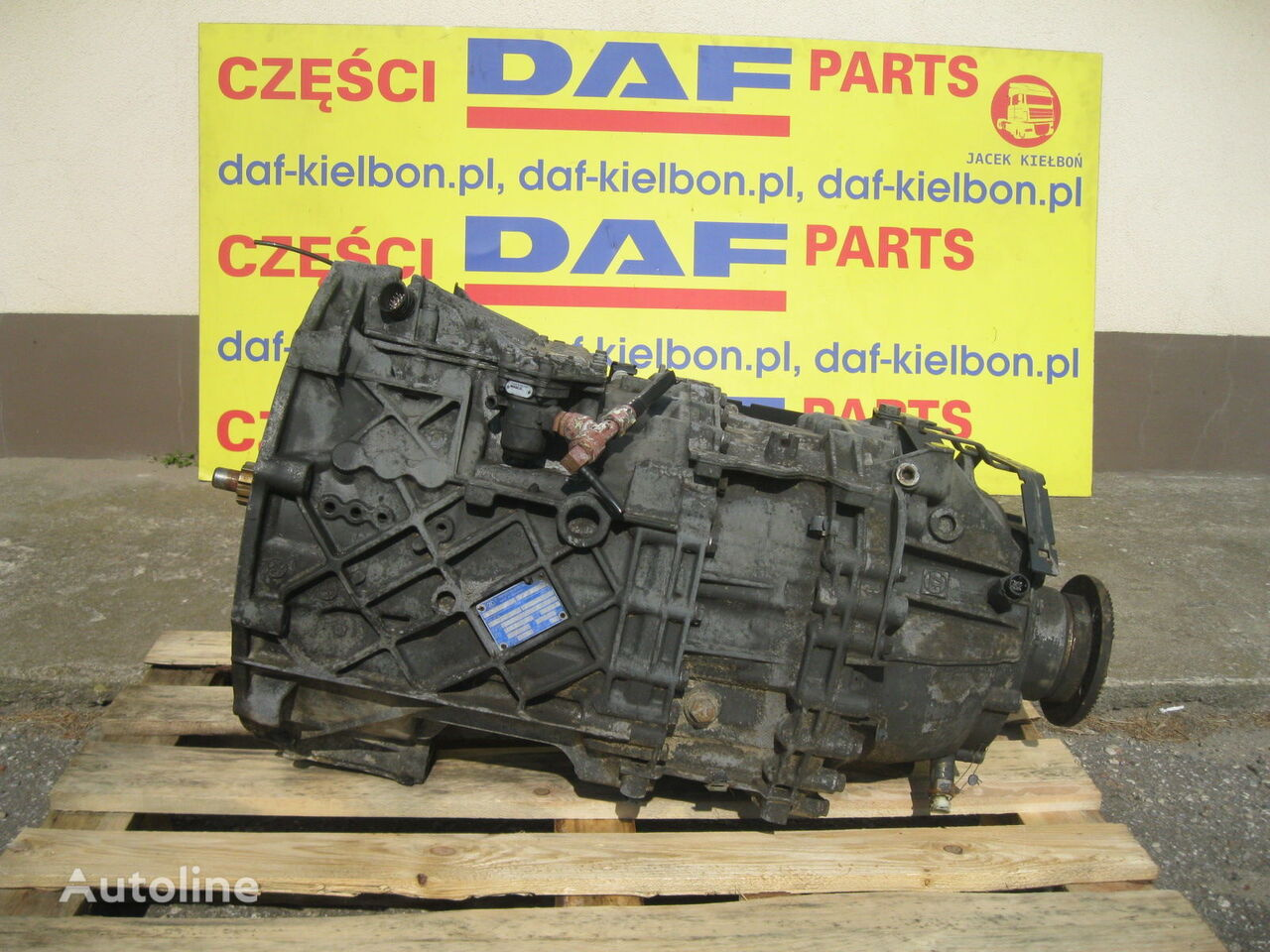 ZF 12AS2330 12AS2130 gearbox for DAF XF 105 tractor unit