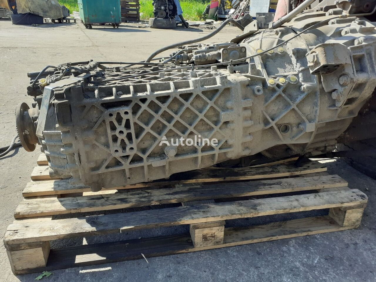 ZF 16S2323TD (1639981) gearbox for DAF XF 105 tractor unit