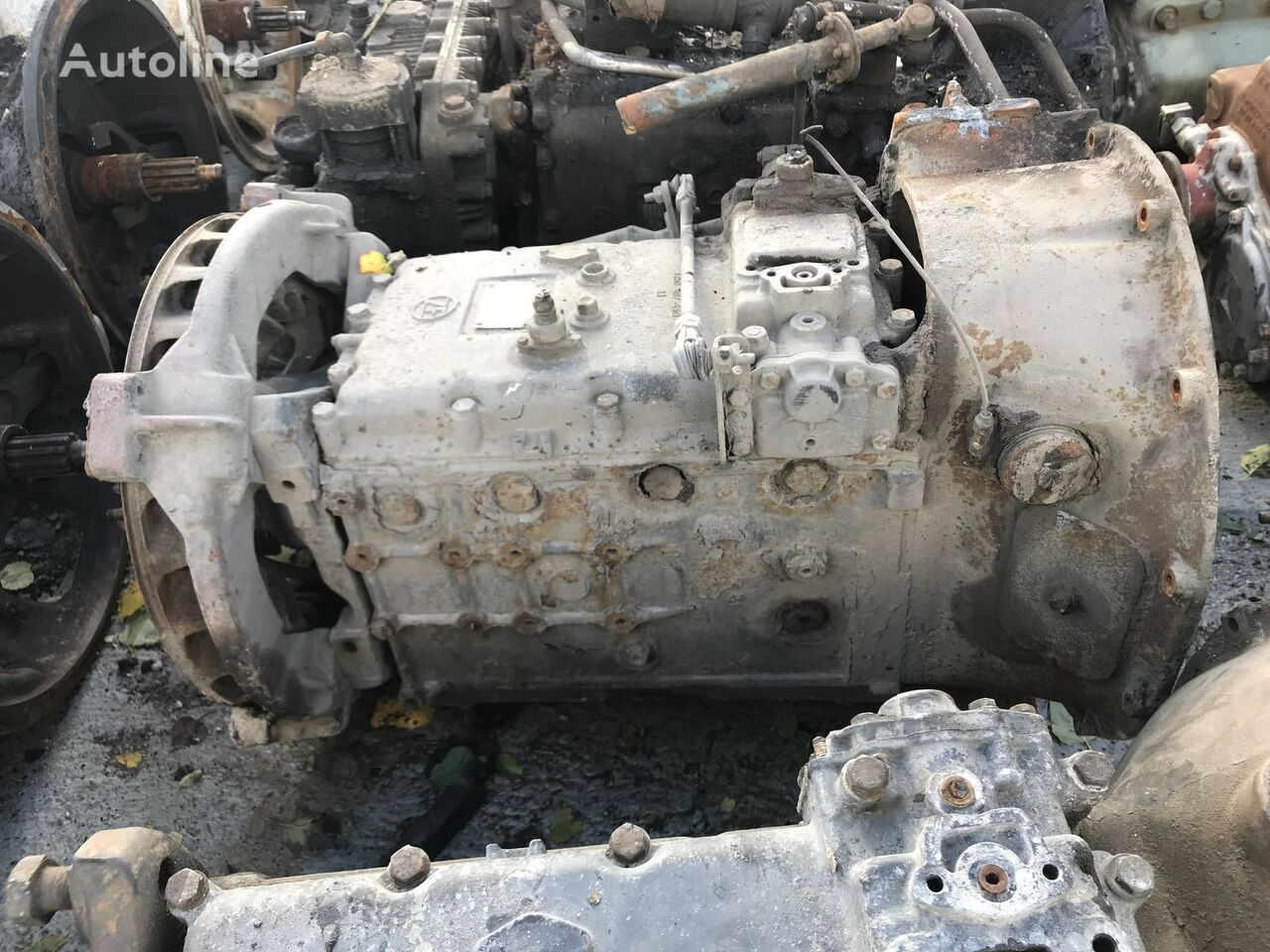 6s90 6,98-1,0 gearbox for tractor unit