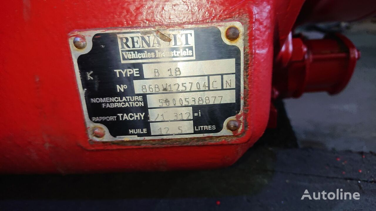B18 gearbox for RENAULT truck