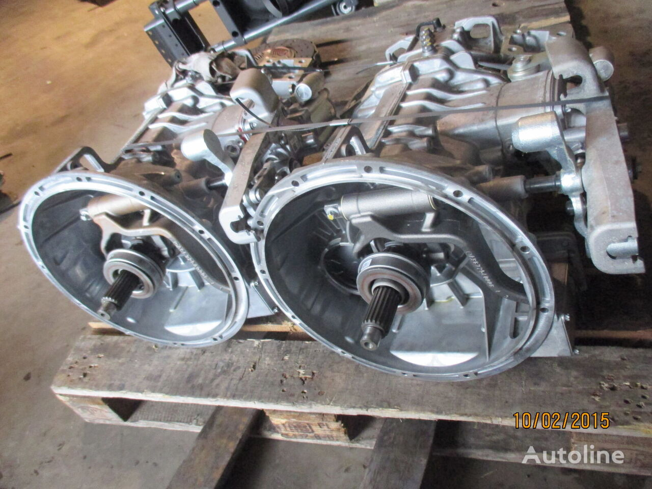 G71-6 gearbox for MERCEDES-BENZ Atego  tractor unit