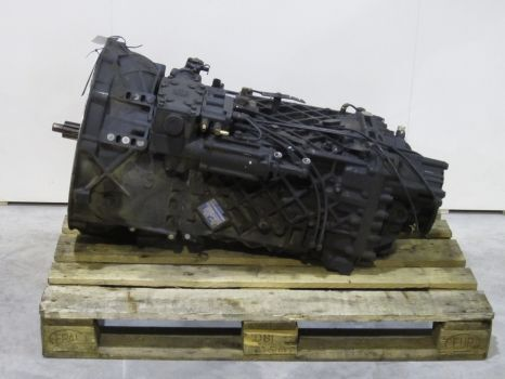 16S2520TO gearbox for MAN tractor unit