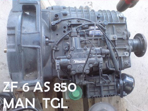 gearbox for MAN SKRZYNI ZF 6 AS 850 MAN TGL 5000 zl tractor unit