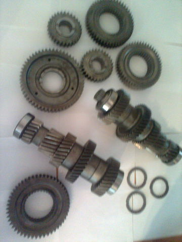 new ZF 12 AS 2301 Promezhutochnye valy KPP 1327203046  1327203044 gearbox for MAN tga