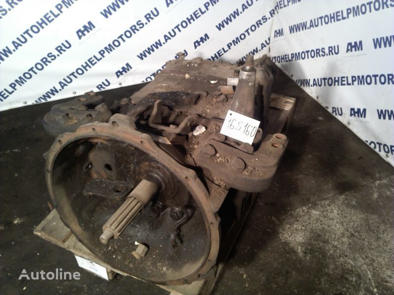 MERCEDES-BENZ 16 S160 gearbox for MERCEDES-BENZ 1735 tractor unit