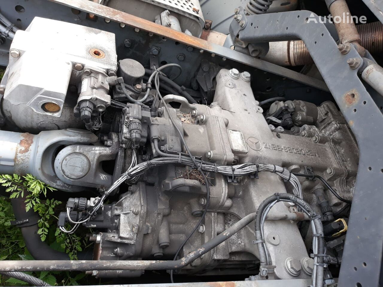 MERCEDES-BENZ G210-16 gearbox for MERCEDES-BENZ ACTROS 1841 tractor unit