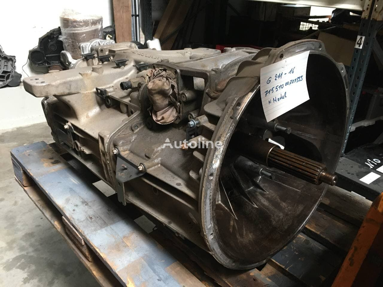 MERCEDES-BENZ G211-16 (71551000707333) gearbox for truck
