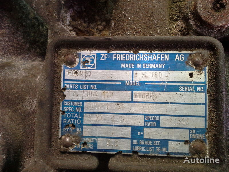 ZF 8S180 gearbox for NEOPLAN bus
