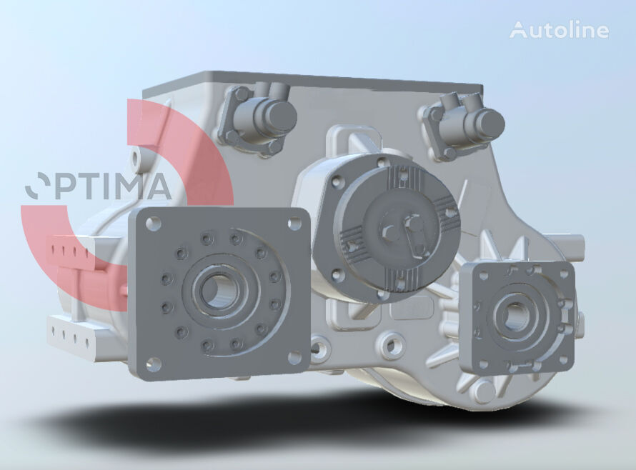 OPTIMA Hydrostatic Drive for Sweeper Trucks gearbox for other municipal vehicles
