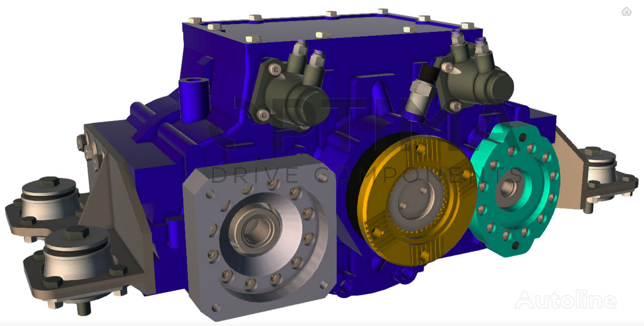 new OPTIMA Hydrostatic Drive for Sweeper Trucks (OPS852) gearbox for other municipal vehicles