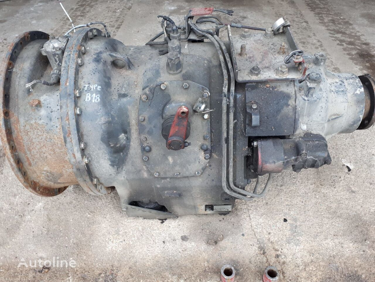 RENAULT gearbox for RENAULT MAGNUM B18 200 22 tractor unit