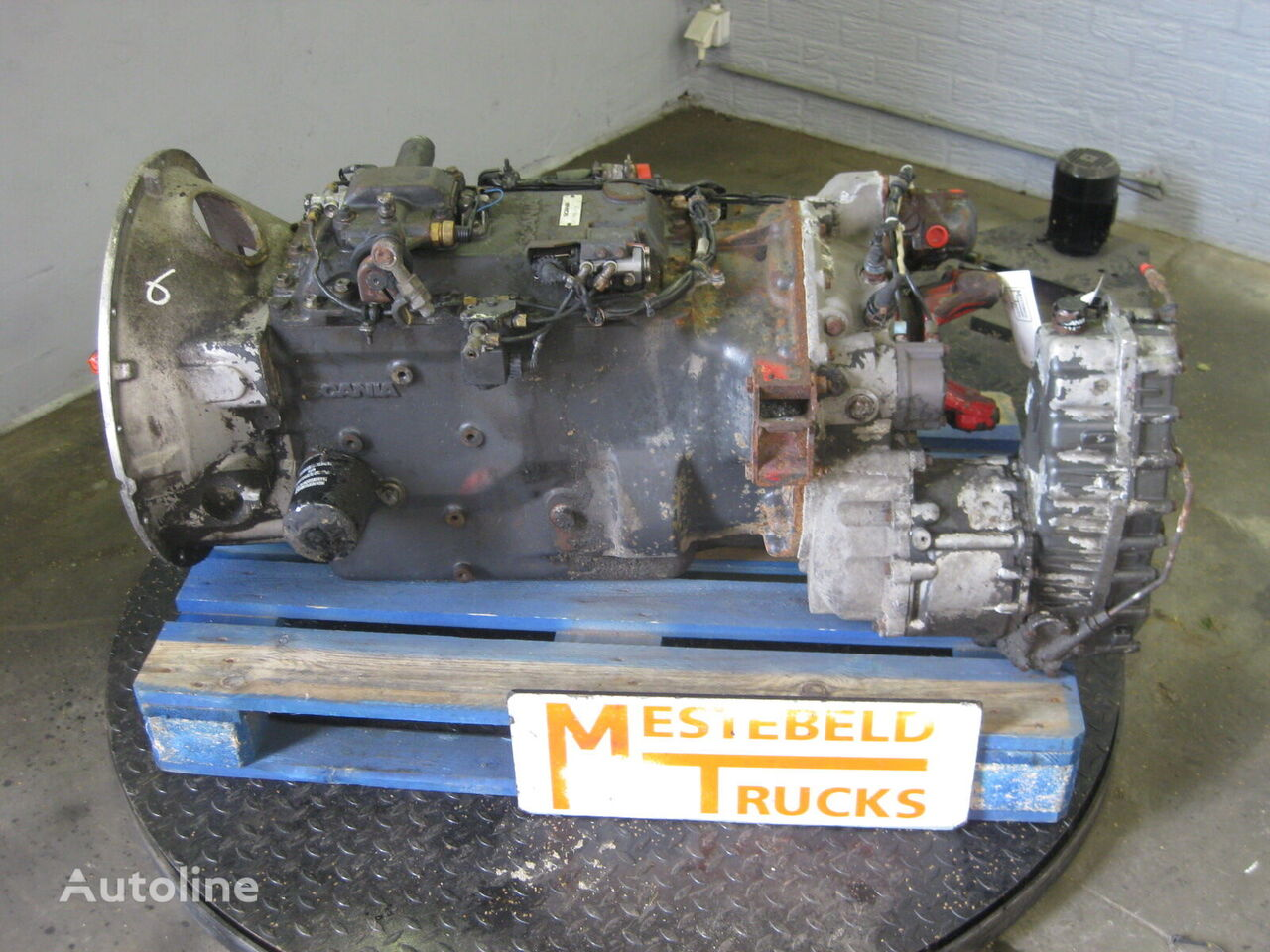 SCANIA GRS 900R gearbox for SCANIA   truck