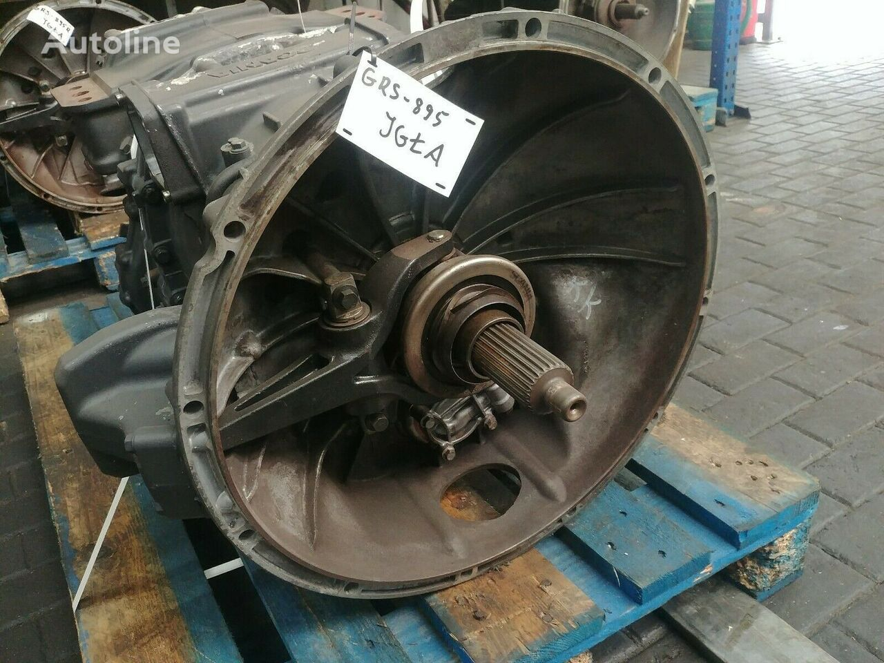 GRS895 MINT CONDITION gearbox for SCANIA tractor unit