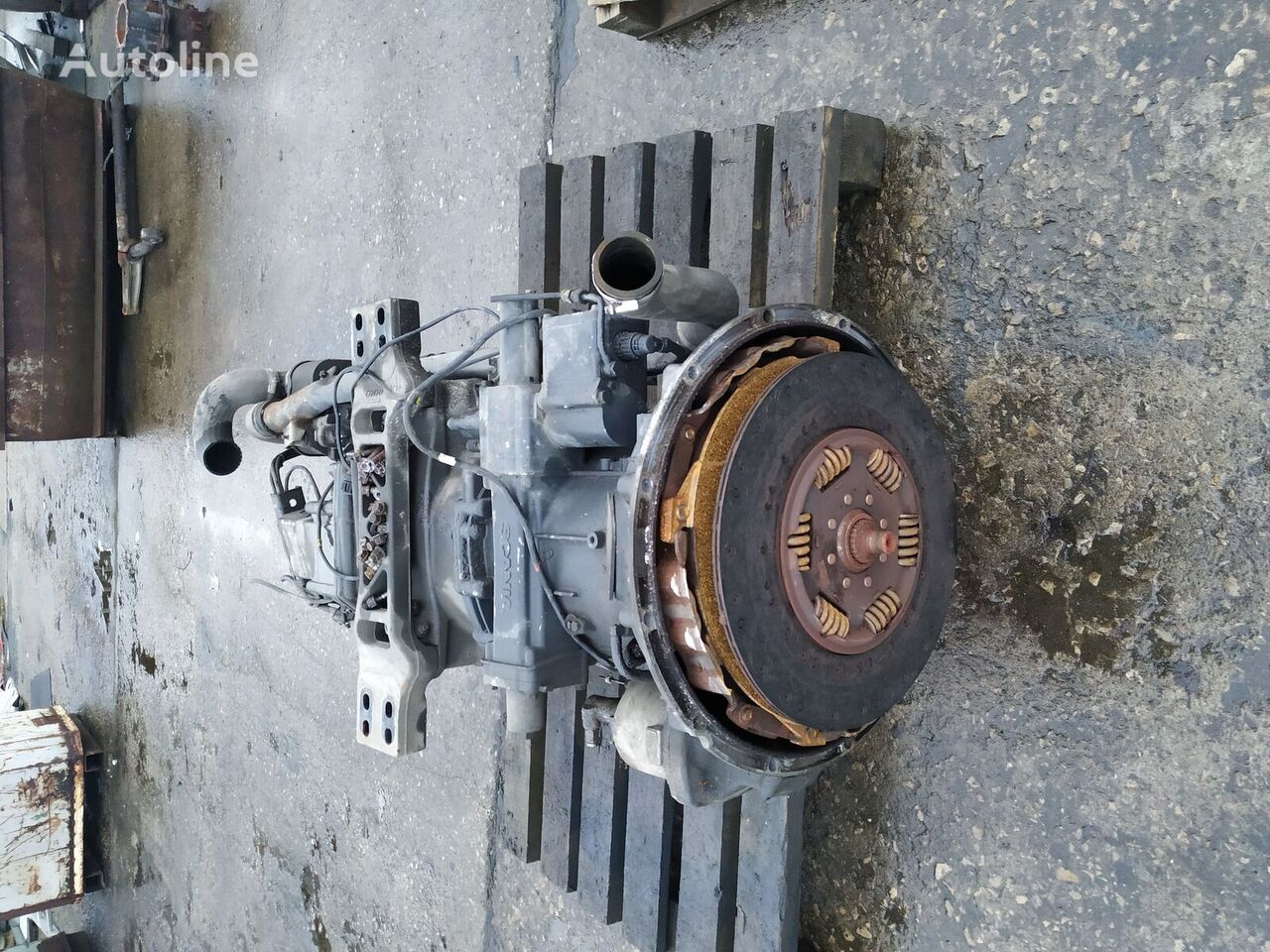 SCANIA GRS905R gearbox for SCANIA R420 tractor unit