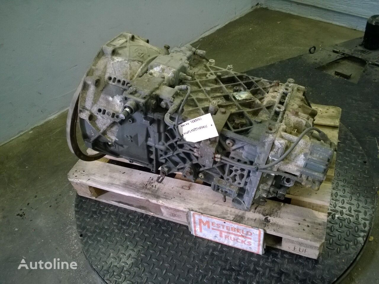 TERBERG 16S151 OD gearbox for TERBERG truck