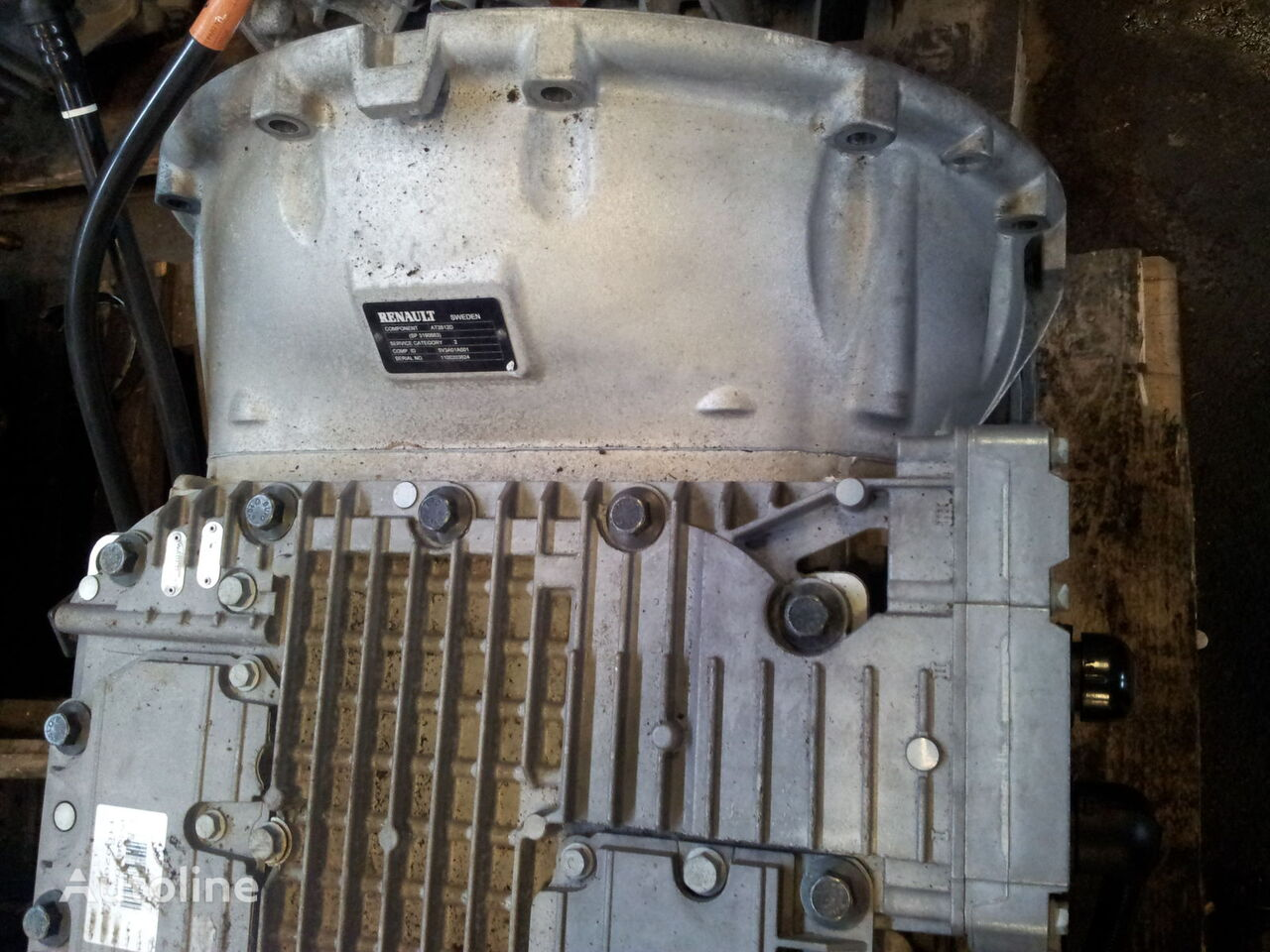 VOLVO FH4, FM4, EURO6, Renault T series, RANGE, GAMA, AT2612D, AT2612E gearbox for VOLVO FH4 EURO6, tractor unit