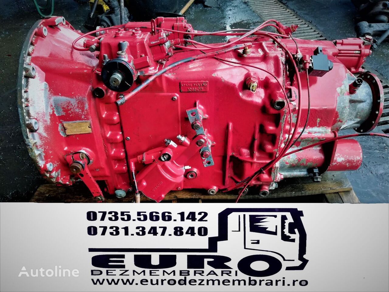 VOLVO SR 1900 gearbox for tractor unit