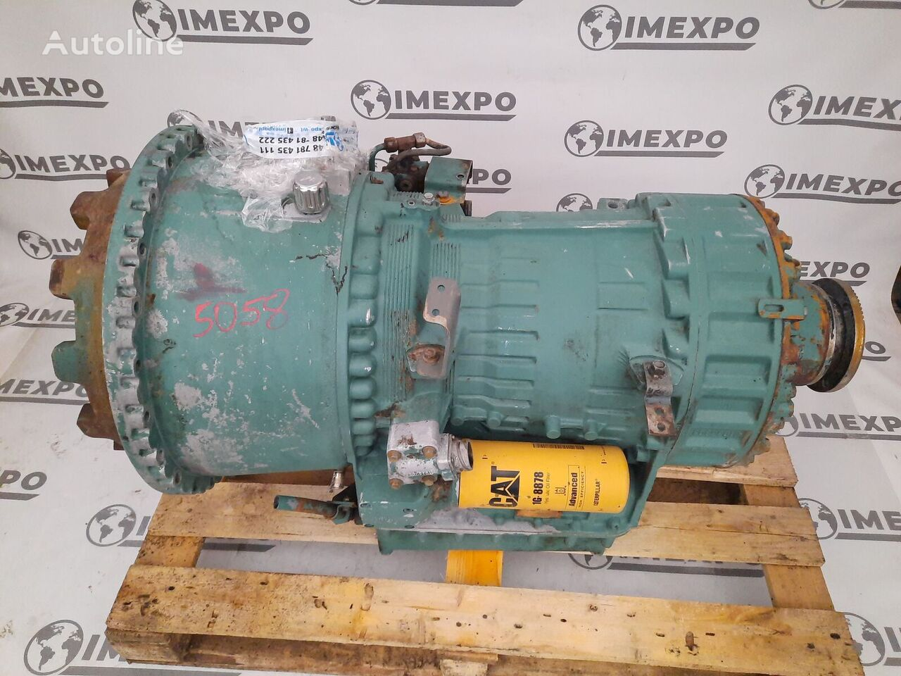VOLVO VT1906PT POWERTRONIC / WORLDWIDE DELIVERY gearbox for VOLVO FH FM