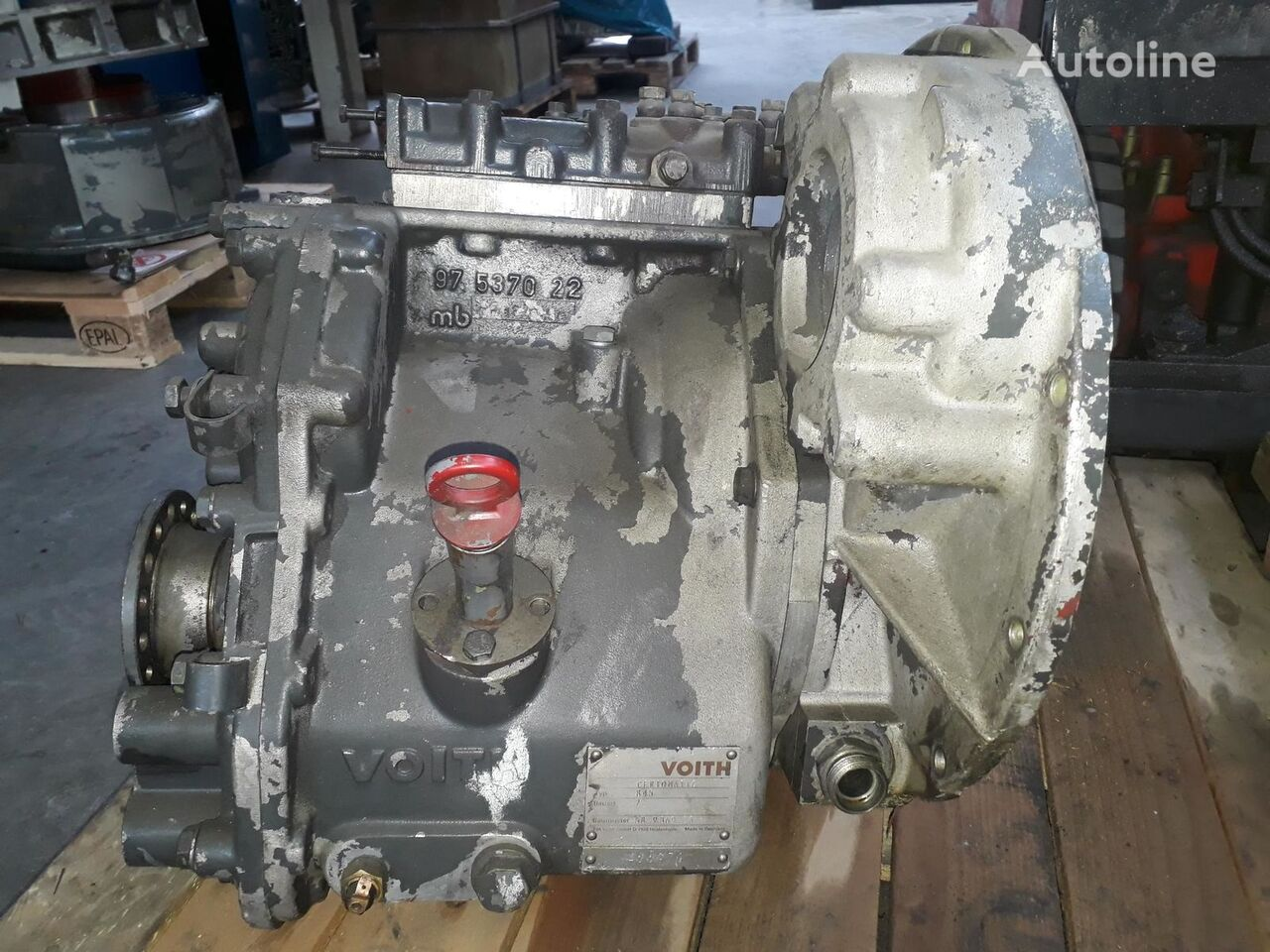 Voith 845 gearbox for Mulag tractor unit