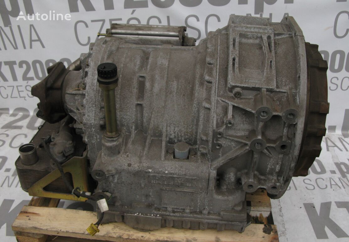 new ZF gearbox for SCANIA bus