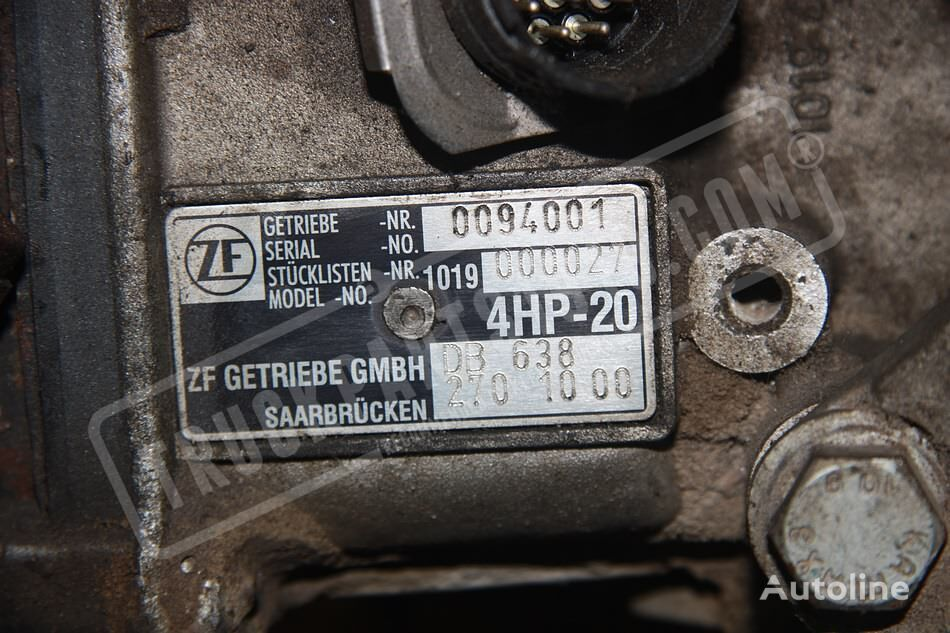 ZF (6382701000) gearbox for truck