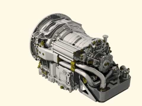 ZF gearbox for bus