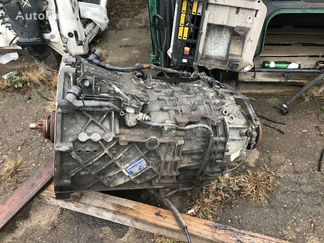 ZF 12 AS 2130 TD (1353030006) gearbox for DAF CF 410 tractor unit