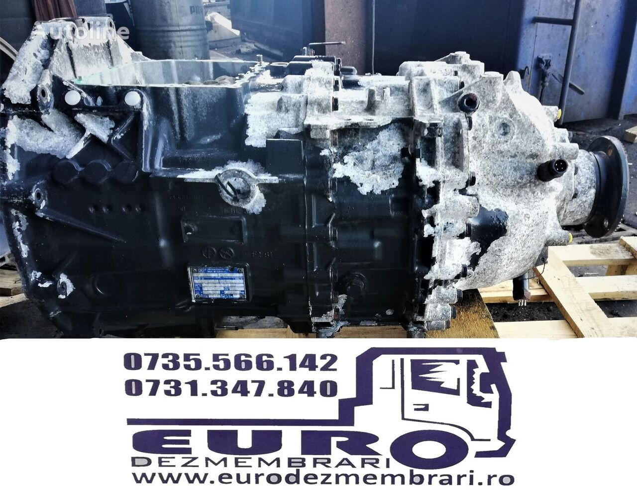 ZF 12 AS 2301 gearbox for MAN tractor unit