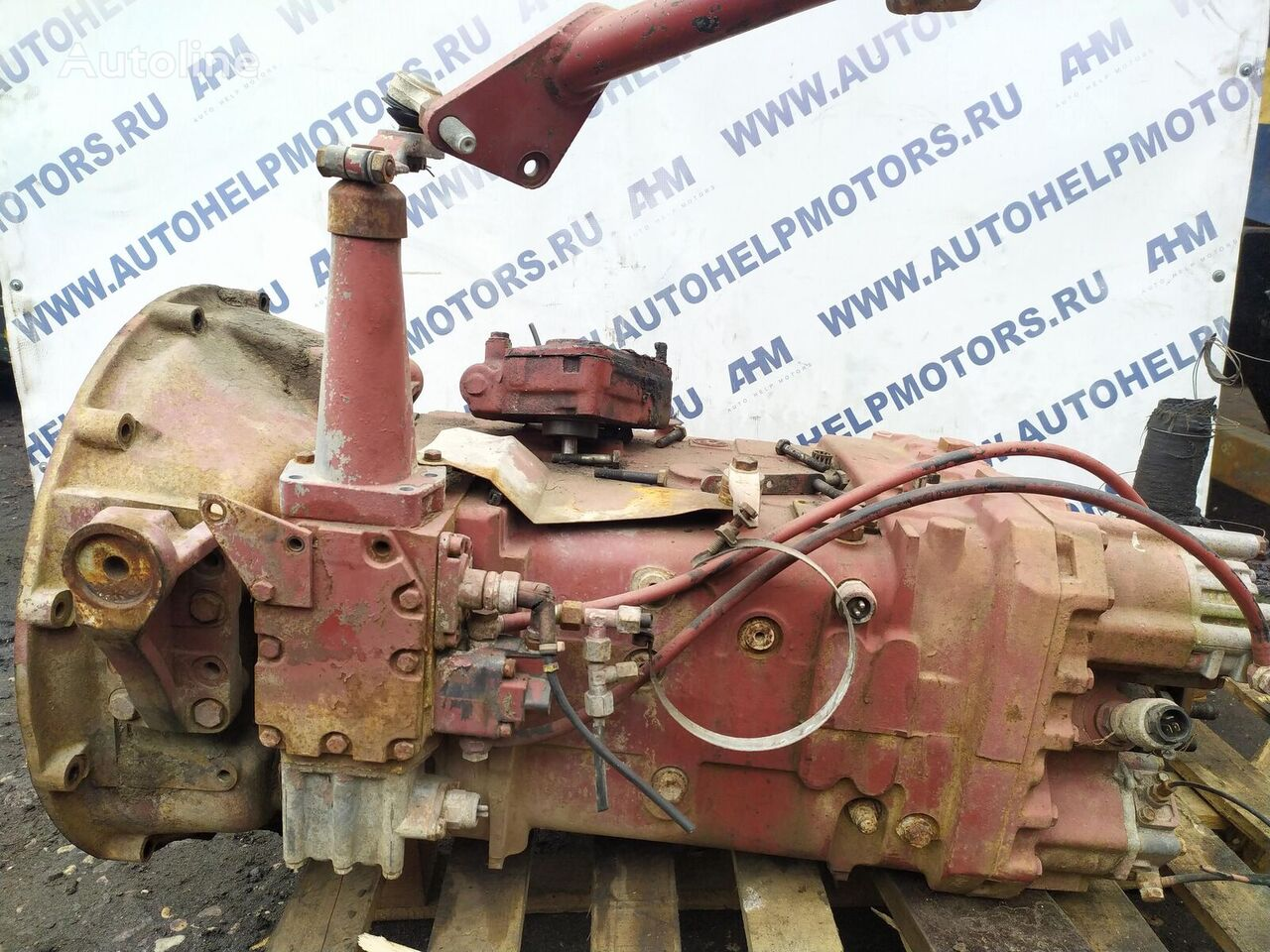 ZF 16S130 gearbox for IVECO tractor unit