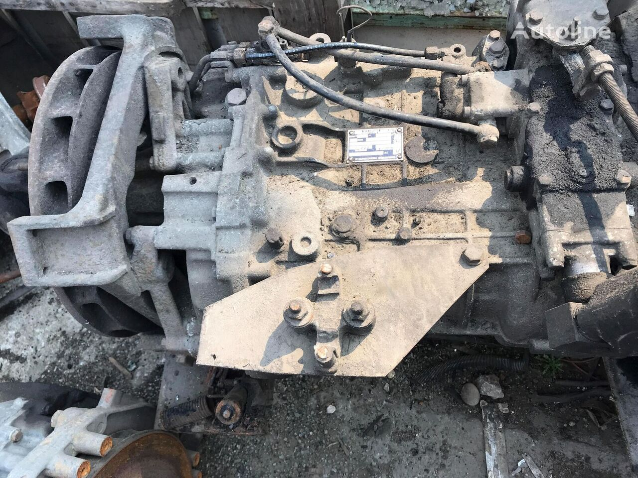 ZF 6S-150 C gearbox for MAN bus