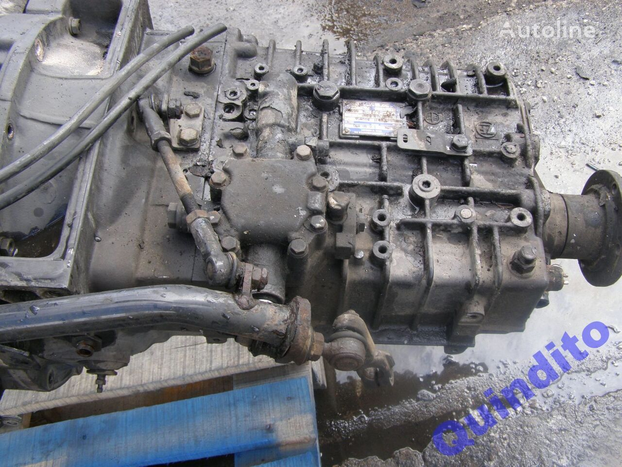 ZF 6S850 gearbox for MAN truck