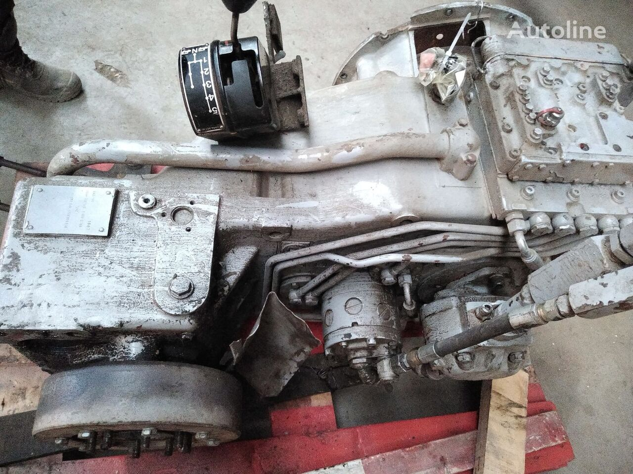 ZF 6WG180 gearbox for mobile crane