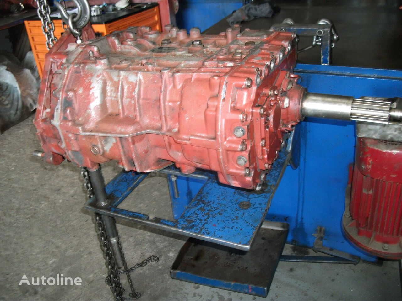 ZF 8S 180 gearbox for SETRA 315 HDH  bus
