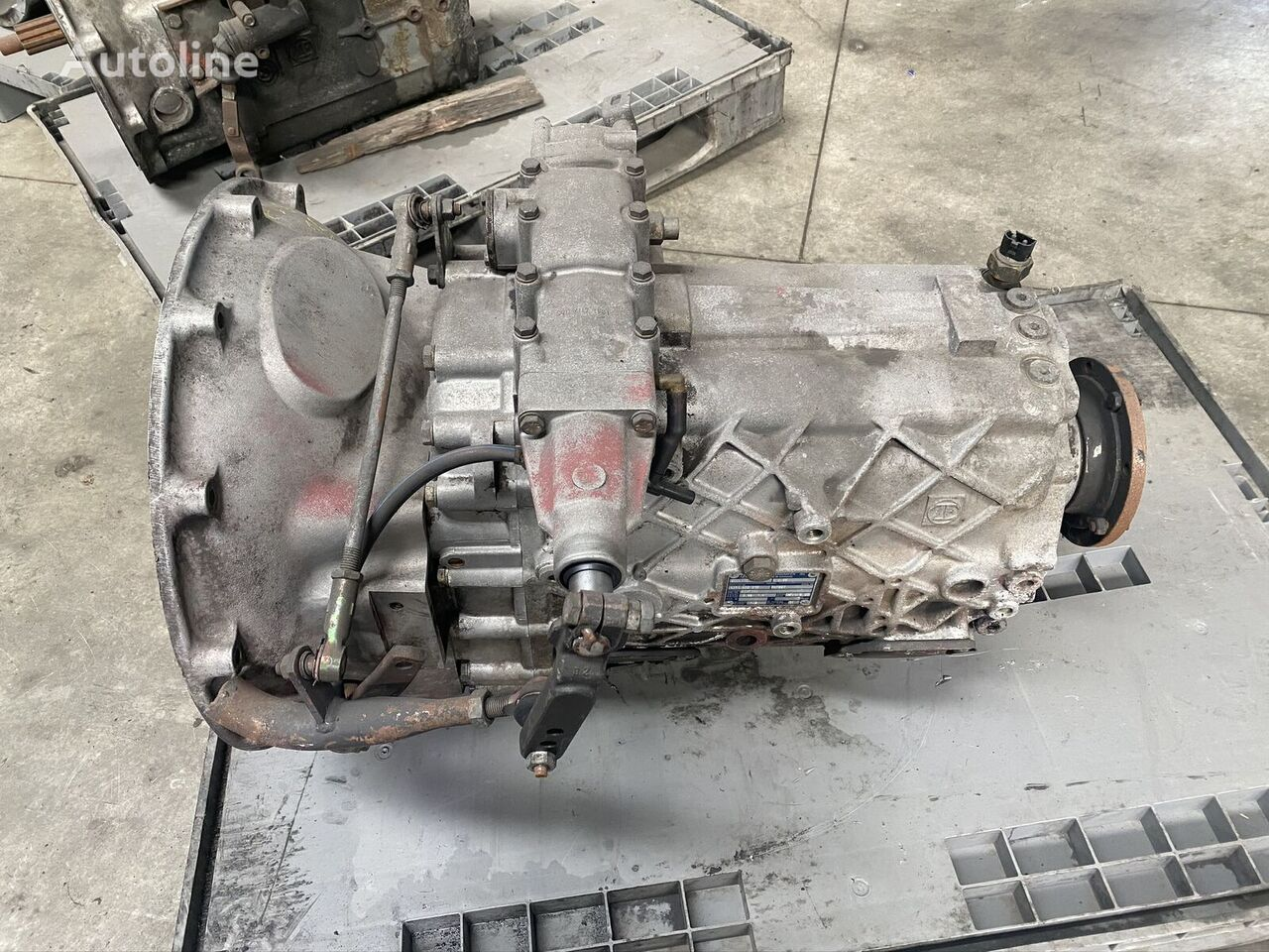 ZF ECOLITE S6-66 gearbox for truck