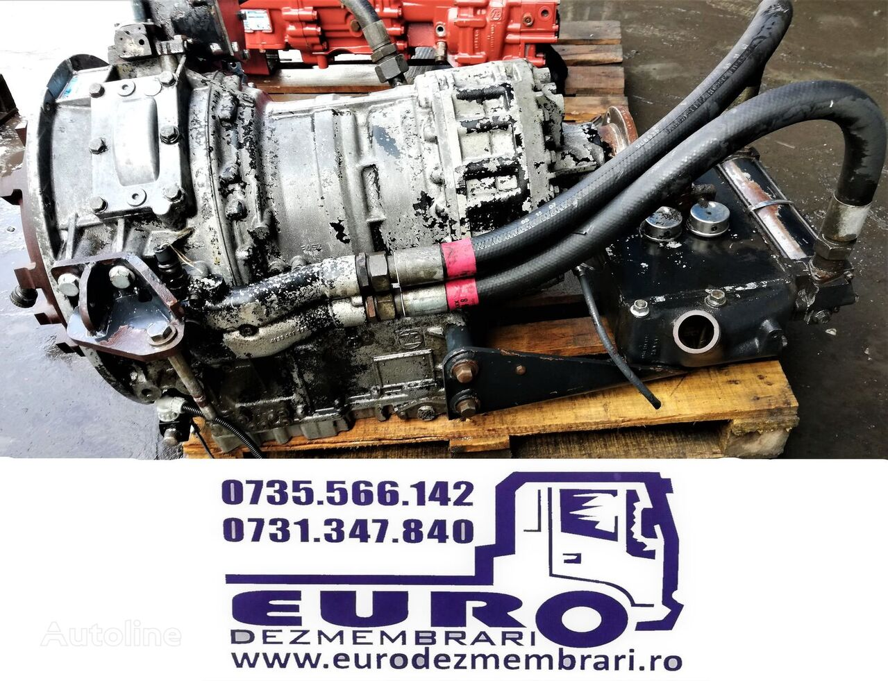 ZF ECOMAT 6 HP-600 gearbox for MAN tractor unit