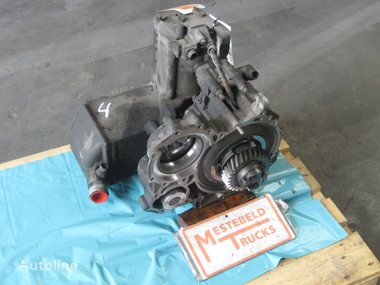 ZF Intarder 16 S 151 IT gearbox for RENAULT truck