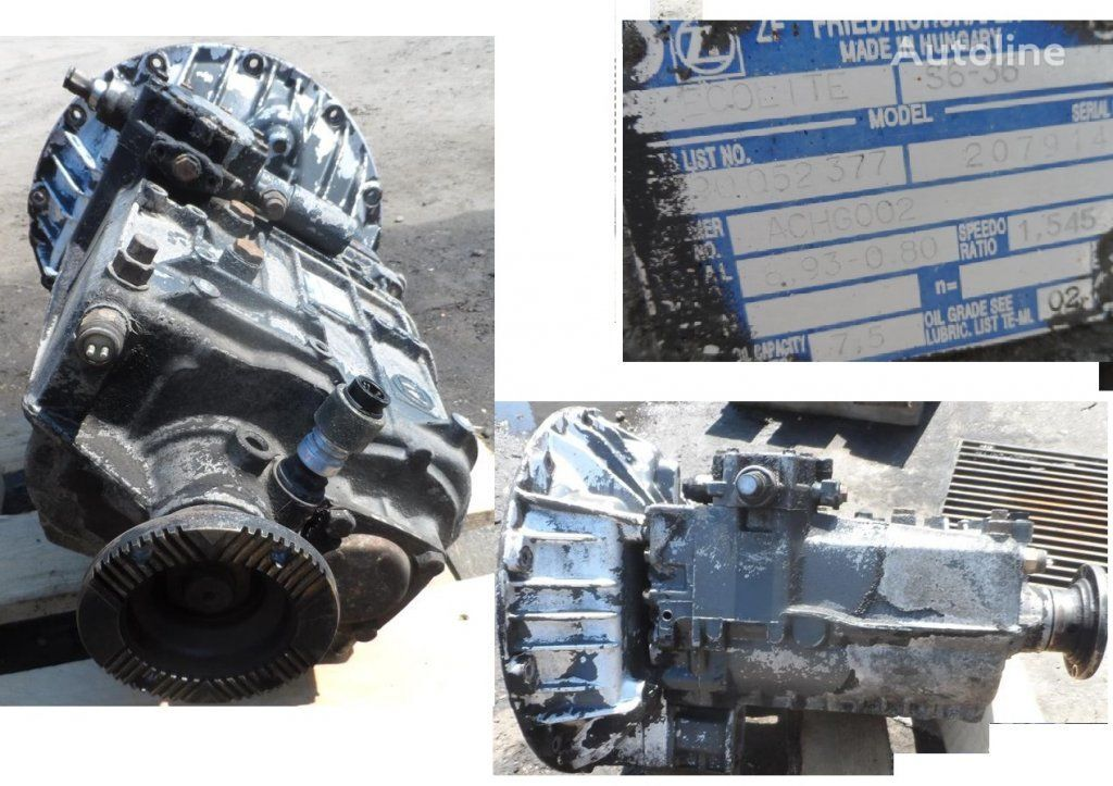 ZF S6-36 gearbox for DAF truck