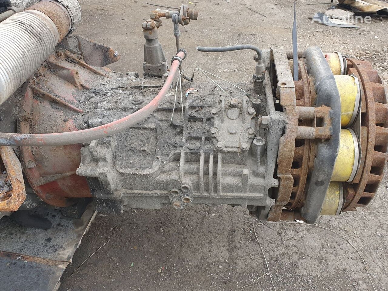 ZF S6-85 gearbox for RENAULT bus
