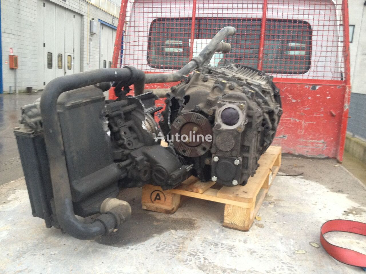 ZF TRAKKER 12 AS 2331 TO gearbox for IVECO TRAKKER E5 tractor unit