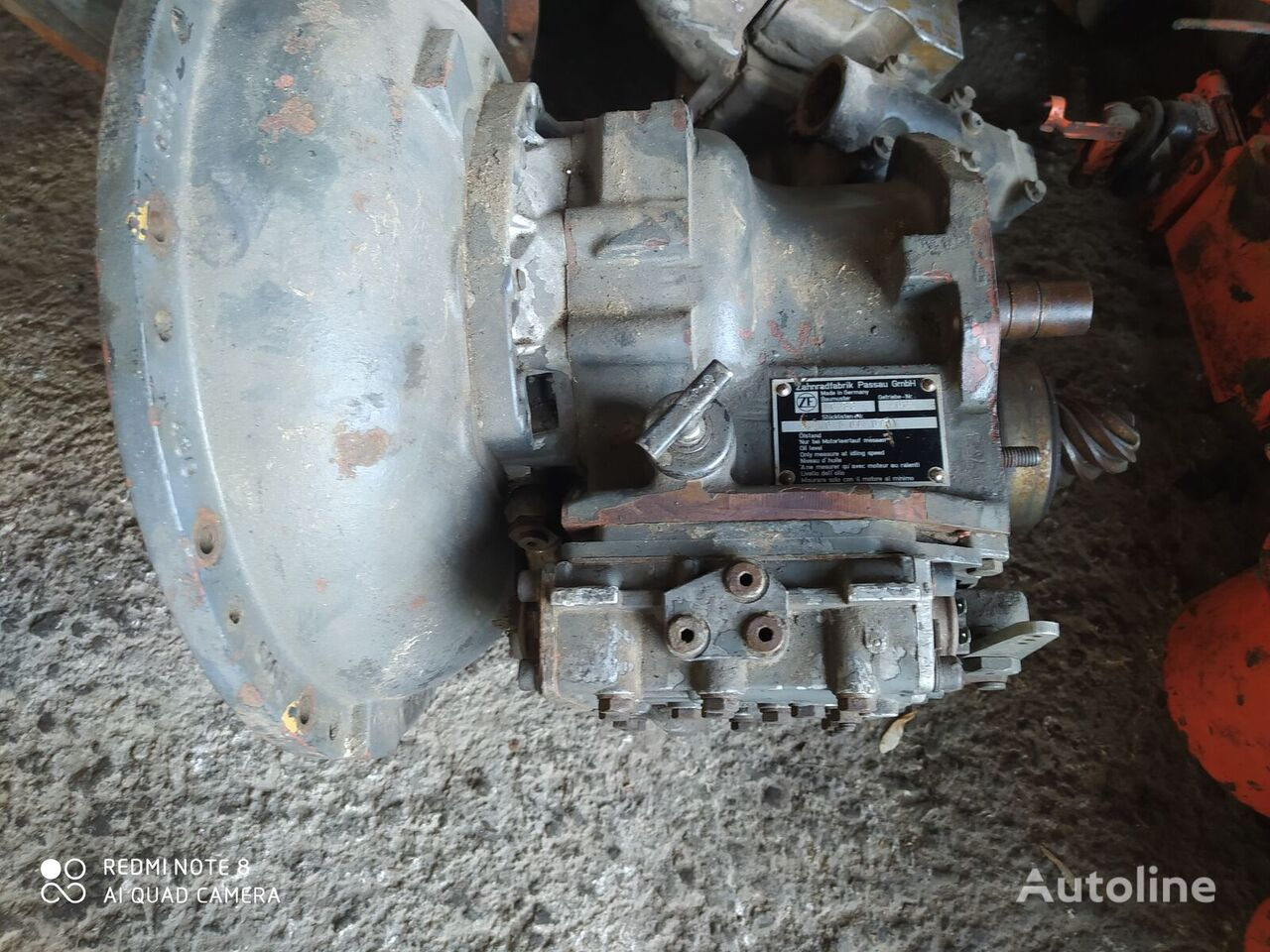 ZF WG-83 gearbox for forklift