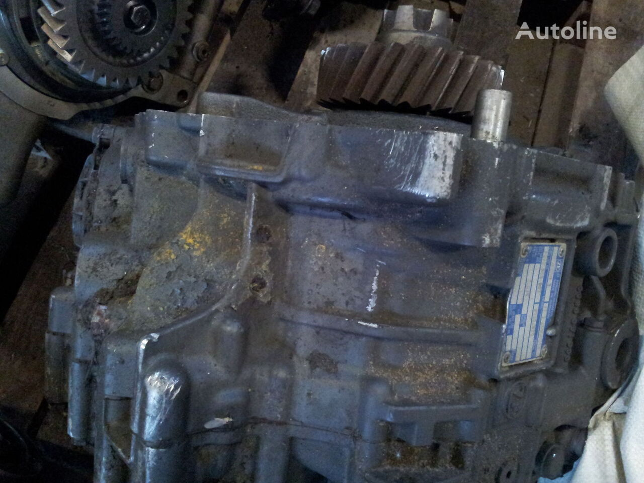 ZF intarder 3, ECOSPLIT gearbox for IVECO Stralis tractor unit