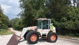 half-axle for CLAAS Ranger 907 telehandler