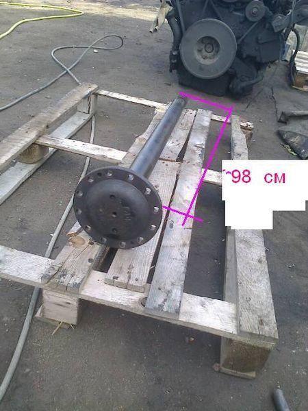 VAN HOOL reduktora Eaton pravaya dlina 102.5 sm i 98 sm half-axle for VAN HOOL bus