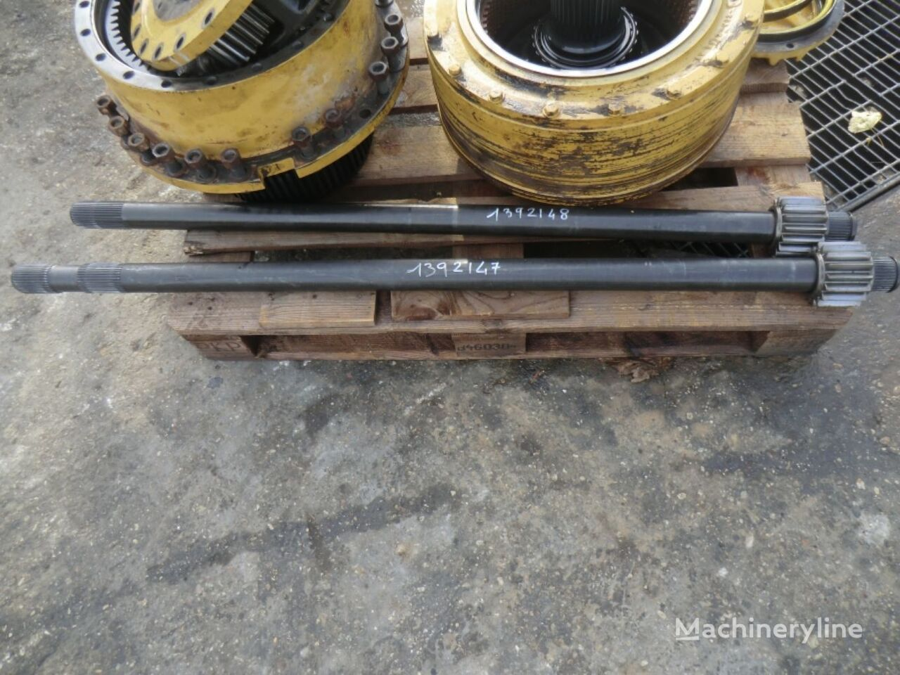 SHAFT AS AWR00399 half-axle for CATERPILLAR 735  articulated dump truck